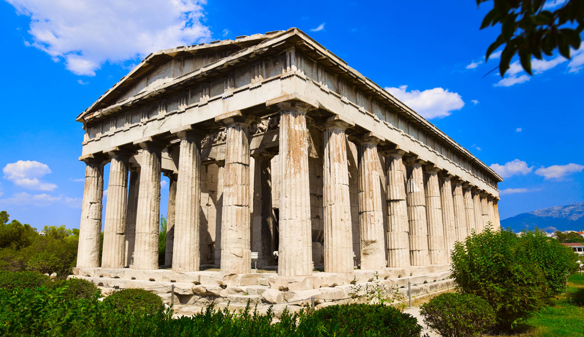 Ancient_Agora evans-travel-transfer-and-tour-mykonos-athens-Temple_Hephaestus_Ancient_Agora