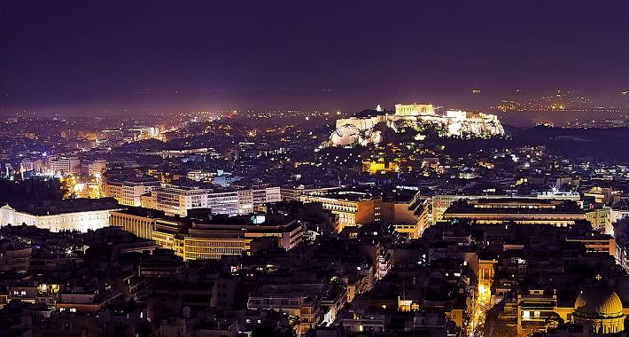 athens by night tours in athens greece evans travel athens hightlights